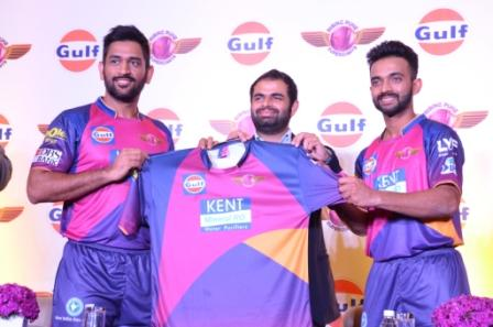 Gulf Oil partners Rising Pune Supergiants