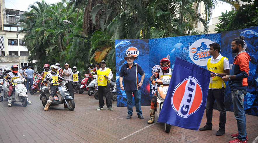 Gulf Monsoon Scooter Rally