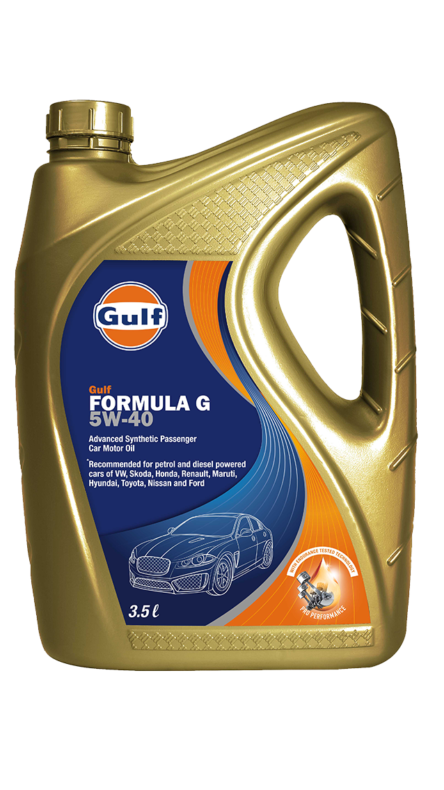Gulf Formula G 5w 40 Gulf Oil Lubricants India Ltd