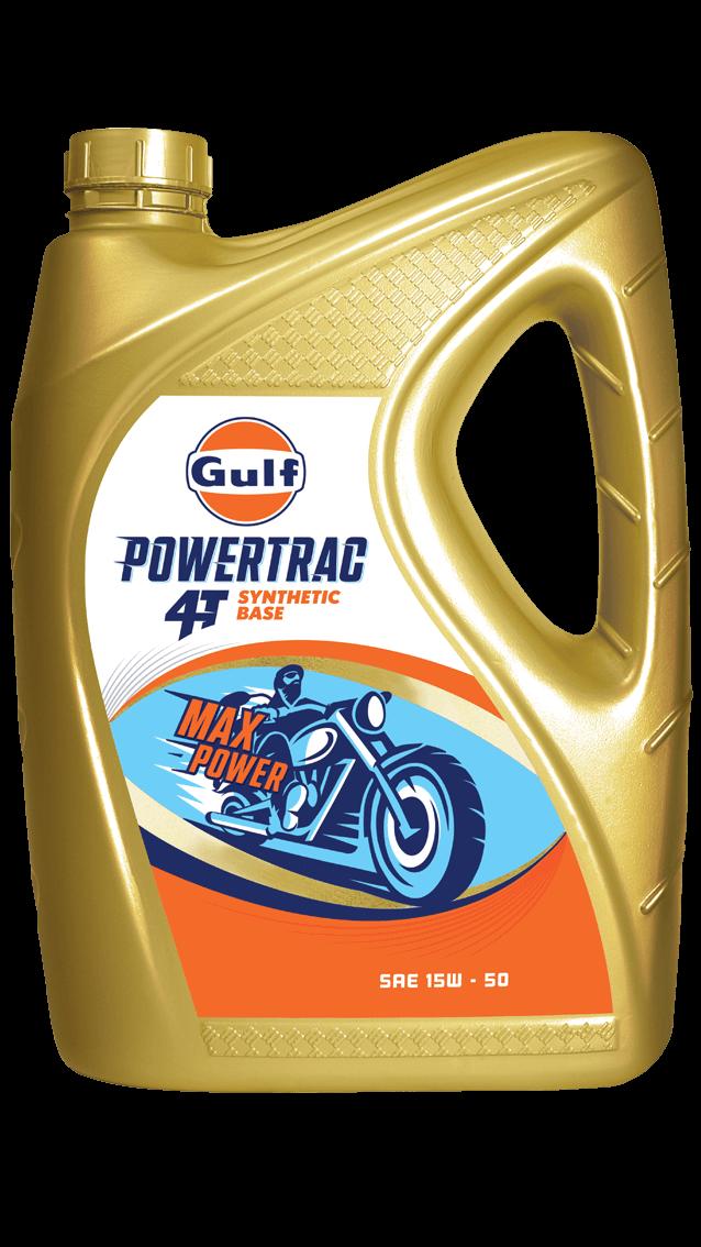Gulf PowerTrac 4T 15W-50 - Gulf Oil Lubricants India Ltd