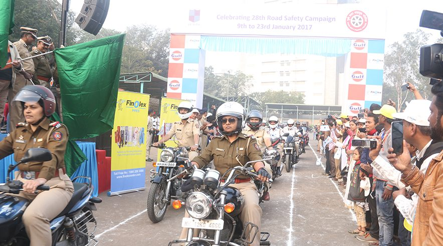 Pune Helmet Distribution