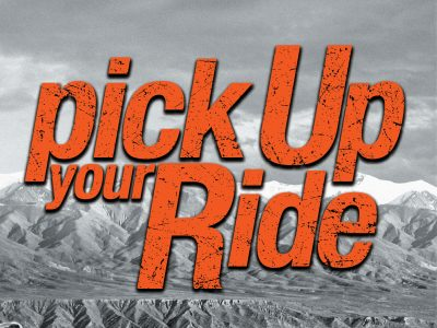 Pick up your ride