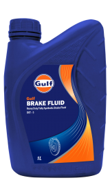Gulf Brake Fluid Dot 3 1Ltr_Blue