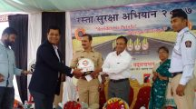 Khalapur Helmet Distribution